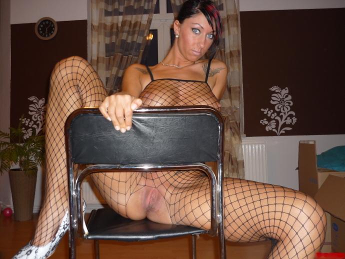 Sexy černé Silonky (1)