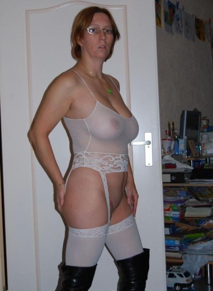 Zralá ženská V Punčochách (3)