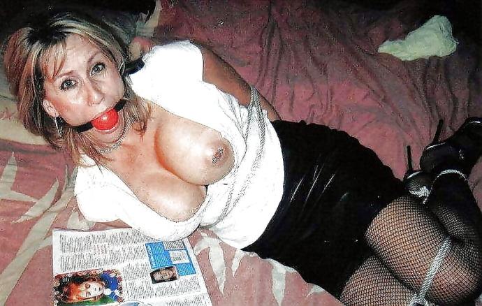 Sexy Bondage V Punčochách, Sexy Fotky (4)