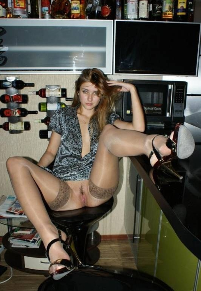 Krásné Holky V Sexy Silonkách (3)