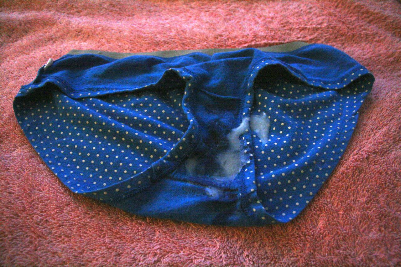 Postříkané Kalhotky Postříkané Tanga (4)